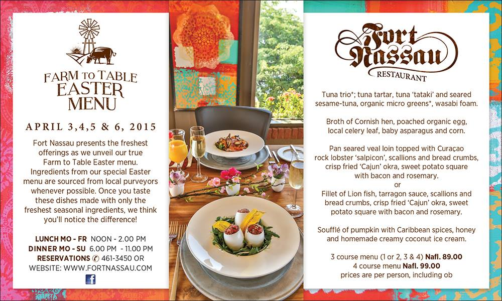 Farm to Table Easter 2015