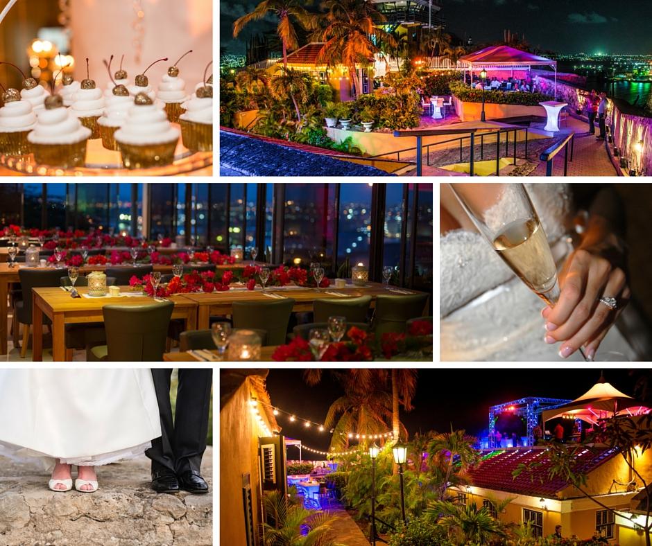 Wedding party Fort Nassau