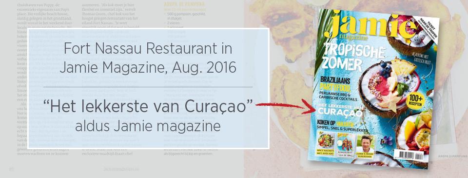 Jamie Oliver Magazine - Fort Nassau
